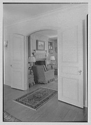 Harold F. Reindahl, residence on Forest Rd., Essex Fells, New Jersey. Library