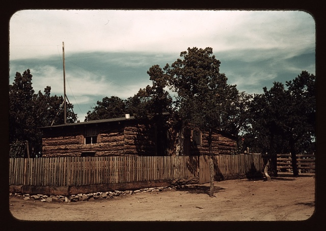 Home of Jim Norris, homesteader, Pie Town, New Mexico
