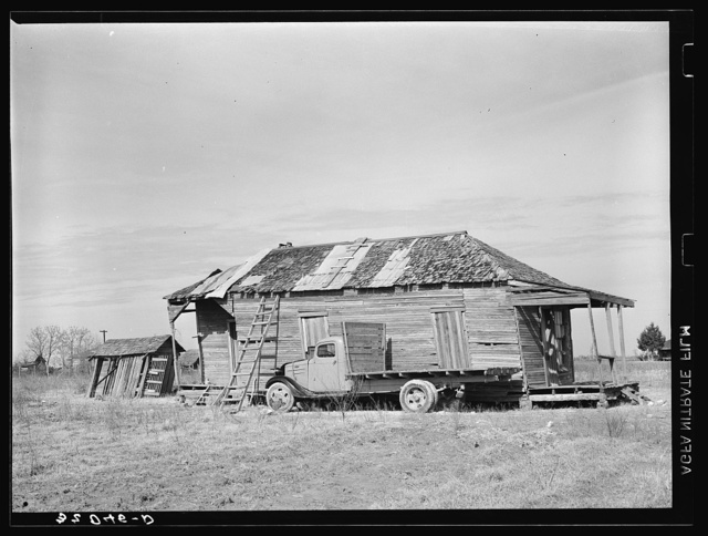 Home of resident of Mound Bayou, Mississippi. All-Negro town