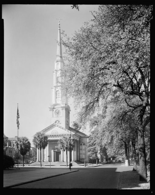 Independent Presbyterian Church, Savannah, Chatham County, Georgia
