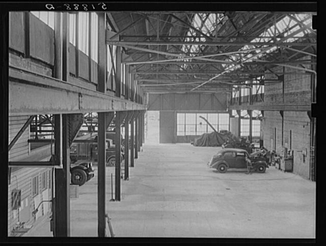 Interior, FSA (Farm Security Administration) warehouse depot. Atlanta, Georgia