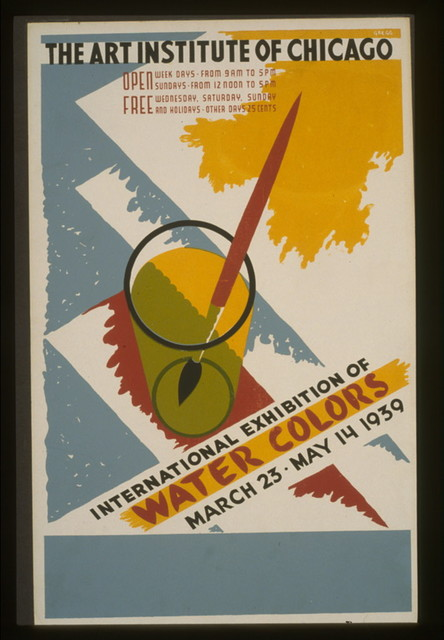International exhibition of water colors The Art Institute of Chicago - March 23 - May 14 1939 / / Gregg.