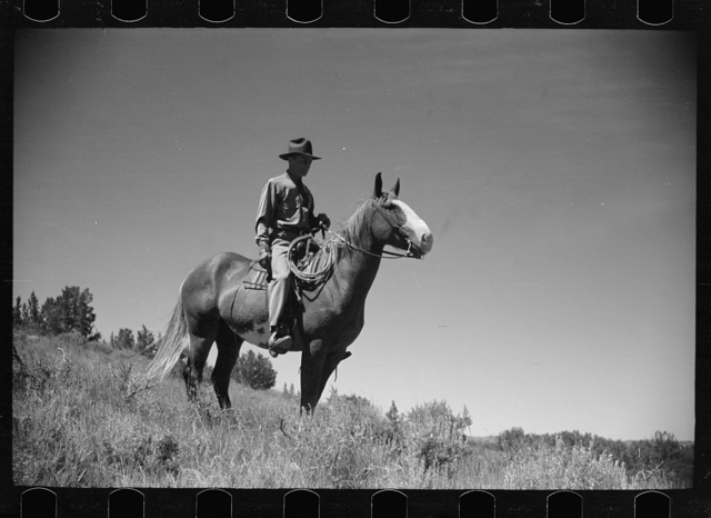 Jack Arnold, owner of Quarter Circle U Ranch, Montana