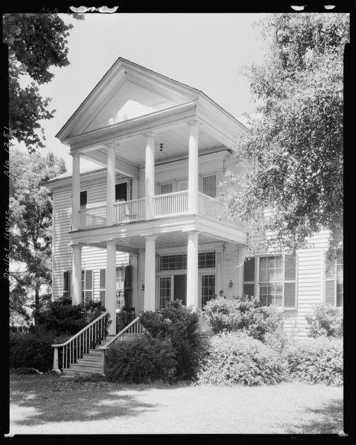 James Dellet House, Claiborne, Monroe County, Alabama
