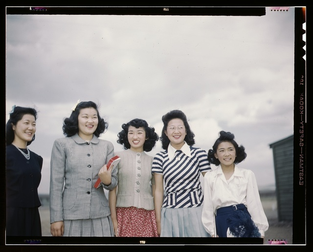 Japanese-American camp, war emergency evacuation, [Tule Lake Relocation Center, Newell, Calif.]