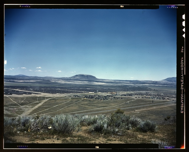 Japanese-American camp, war emergency relocation, [Tule Lake Relocation Center, Newell, Calif.]