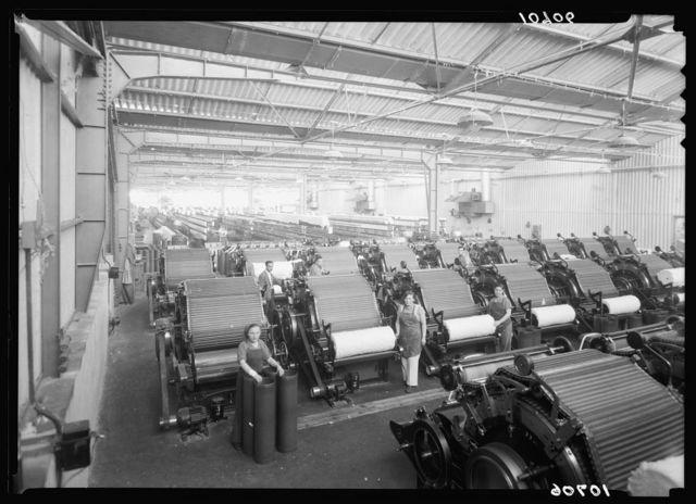 "Jewish factories in Palestine on Plain of Sharon & along the coast to Haifa. Acre. Kafar-Ata.The ""Ata"" Textile Co. The wadding plant"