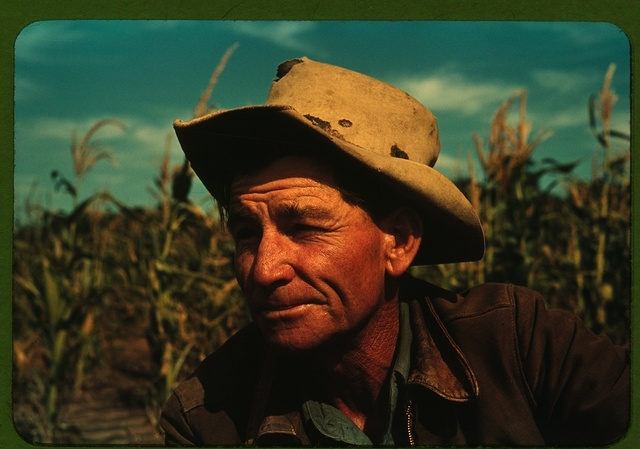 Jim Norris, homesteader, Pie Town, New Mexico
