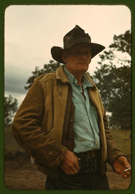 Les Thomas, homesteader, Pie Town, New Mexico