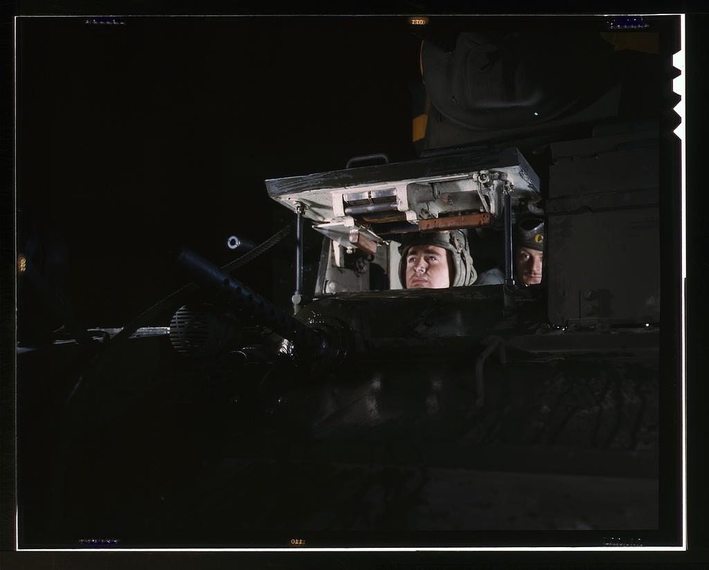 Light tank, Ft. Knox, Ky.