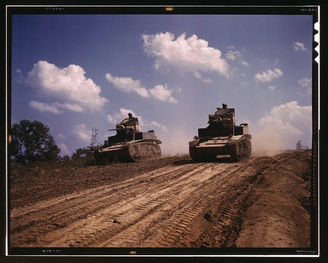 Light tanks, Fort Knox, Ky.
