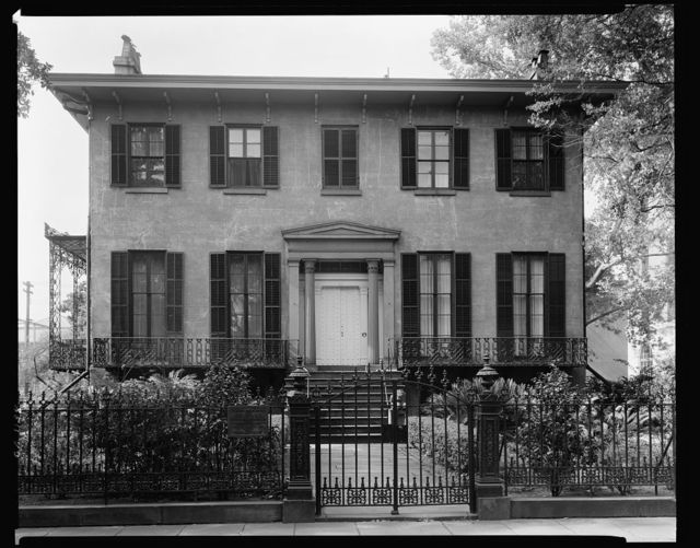 Low House, 325 Abercorn Street, Savannah, Chatham County, Georgia