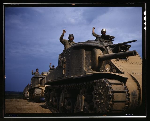 M-3 tank, Ft. Knox, Ky.