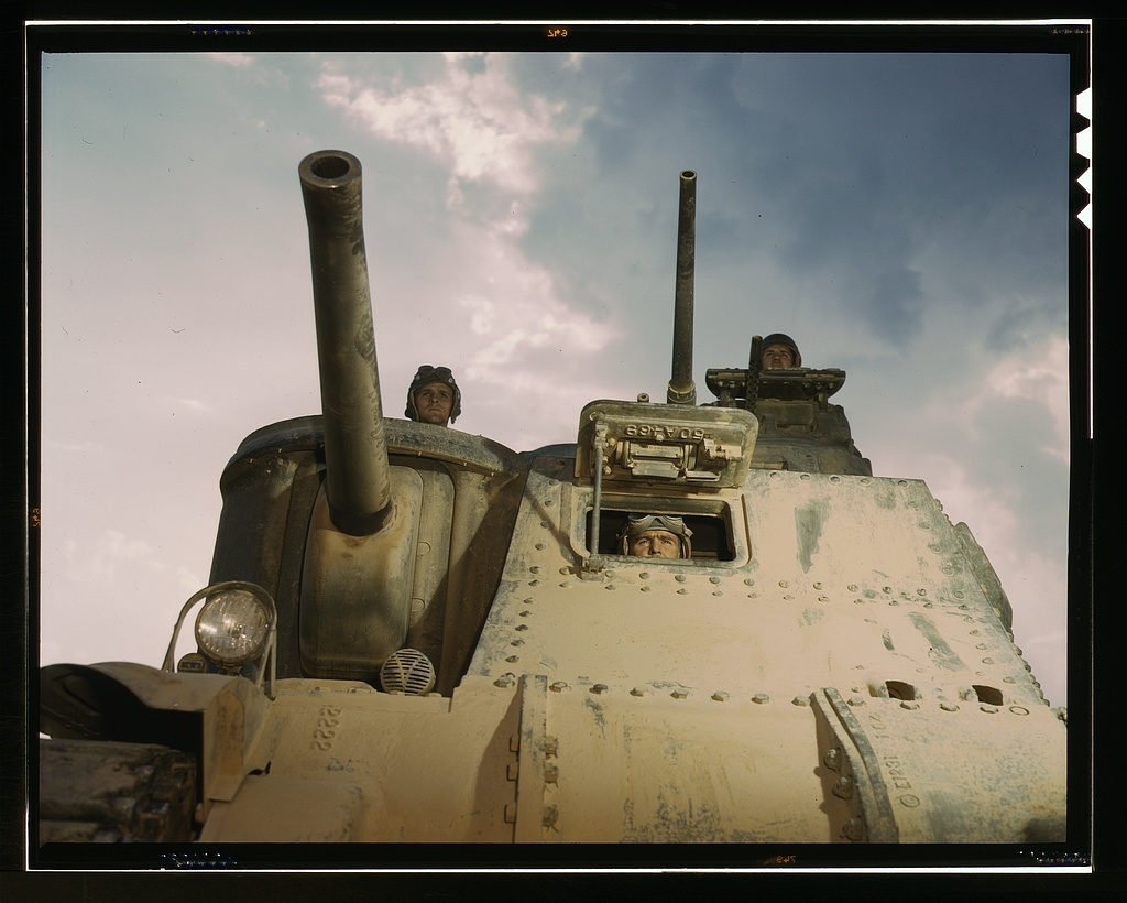 M-3 tanks and crews, Ft. Knox, Ky.