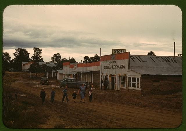 Main Street, Pie Town, New Mexico