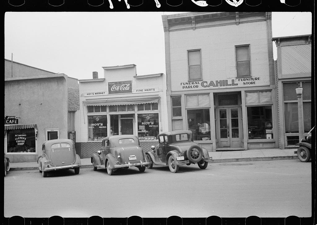 Main street, Sisseton, South Dakota
