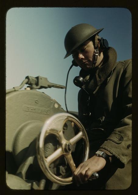 Man of the Fort Story, Va. coastal defense
