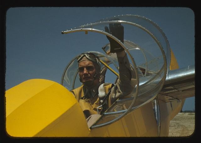 Marine glider pilot at Parris Island, S.C.