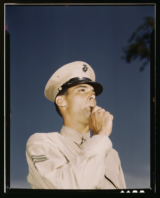 Marine Sgt. at New Orleans, La.