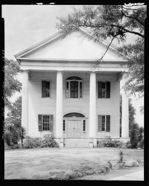 Masonic Hall, Camden, Wilcox County, Alabama