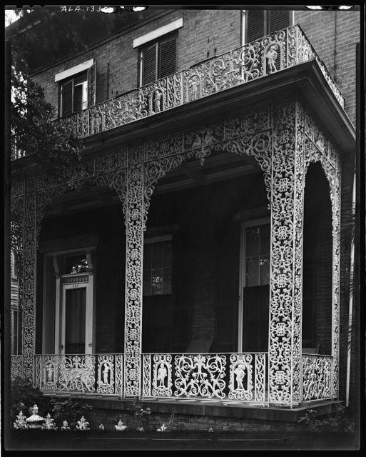 McMillan House, 256 Joachim St., Ironwork, Mobile, Mobile County, Alabama