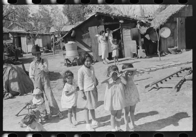 Mexican children, San Juan, Texas