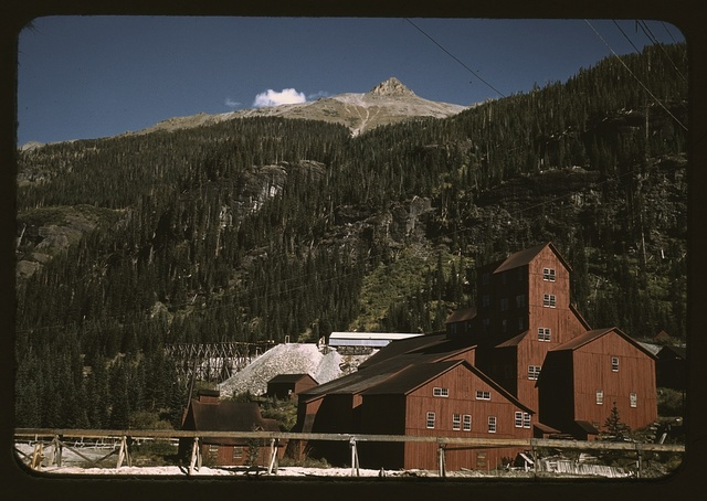 Mill at the Camp Bird Mine, Ouray [County], Colorado