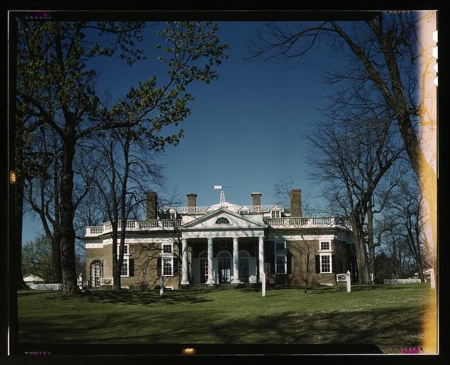 Monticello, home of Thomas Jefferson, Charlottesville, Va.