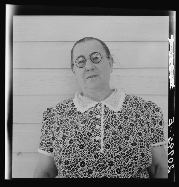Mrs. Chris Ament who has lived for thirty three years on dry land wheat farm in the Columbia Basin. Washington, Grant County, three miles south of Quincy. See general caption number 35