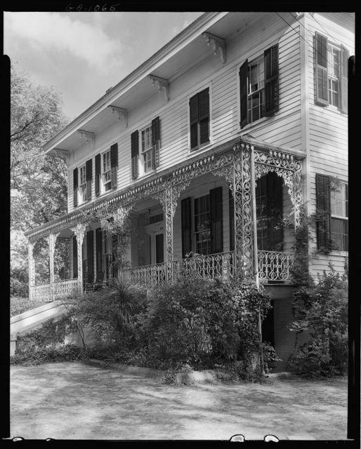 Mrs. C.M. Wolfolk House, Wynnton Road at Monroe St., Columbus, Muscogee County, Georgia