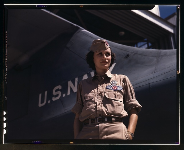 Mrs. Eloise J. Ellis has been appointed by civil service to be senior supervisor in the Assembly and Repairs Department at the Naval Air Base, Corpus Christi, Texas. She buoys up feminine morale in her department by arranging suitable living conditions for out-of-state employees and by helping them with their personal problems