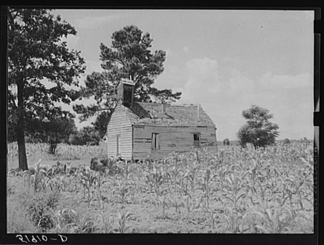 Negro church near Manning, South Carolina