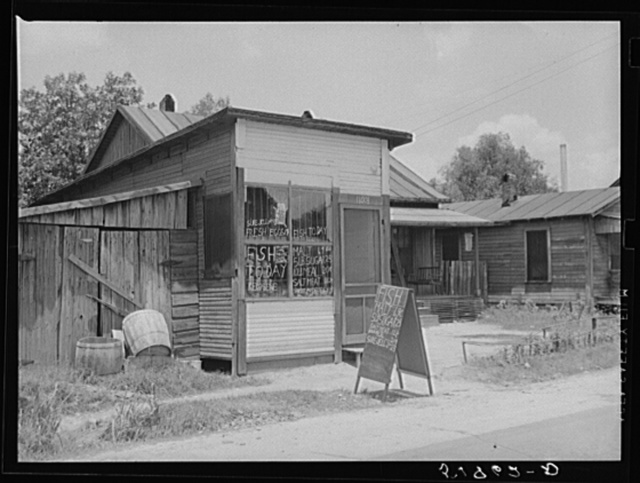 Negro grocery store. Laurel, Mississippi