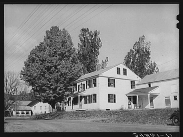 New England home. Bridgewater, Vermont