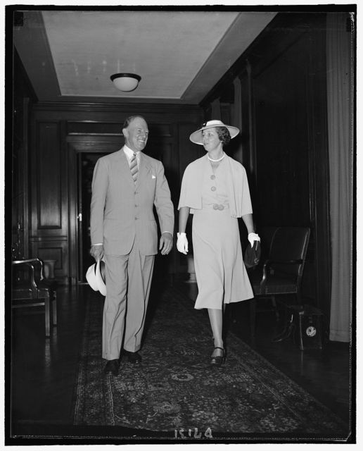 New Governor of the Philippines & Mrs. Francis B. Sayre, Aug. 1939