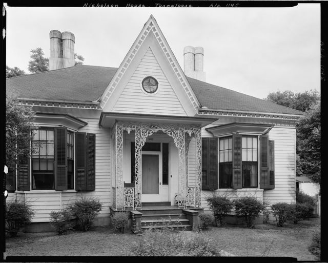 Nicholson House, 1011 Greensboro Ave., Tuscaloosa, Tuscaloosa County, Alabama