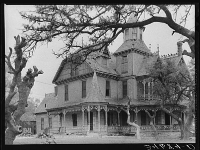Old mansion. Comanche, Texas