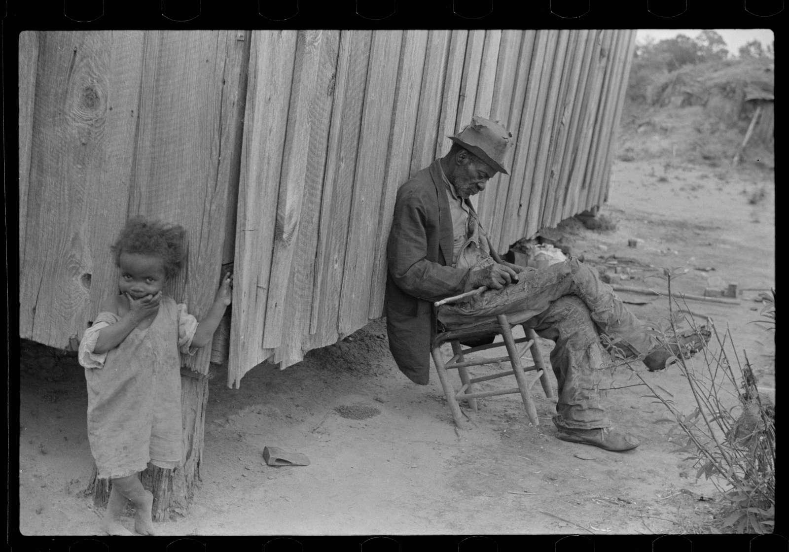 Old Negro, near Camden, Alabama