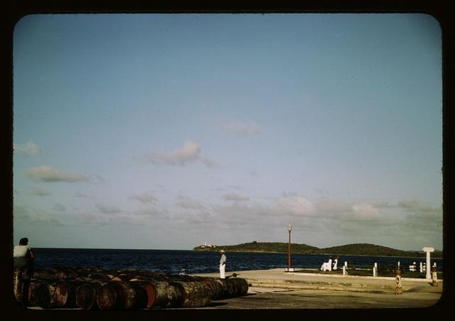 On the coast of St. Thomas, Virgin Islands?