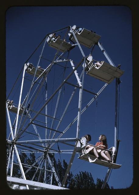 On the ferris wheel at the Vermont state fair, Rutland