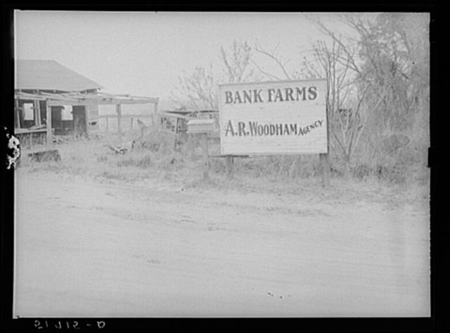 "One of many ""bank"" farms. Coffee County, Alabama"