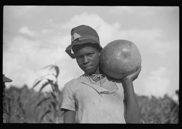 One of Pauline Clyburn's children, rehabilitation borrower, Manning, Clarendon County, South Carolina