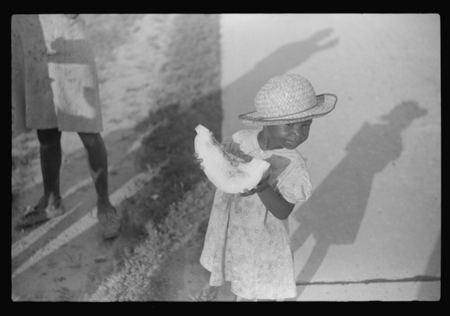 One of the children of Pauline Clyburn, rehabilitation borrower. Manning, South Carolina