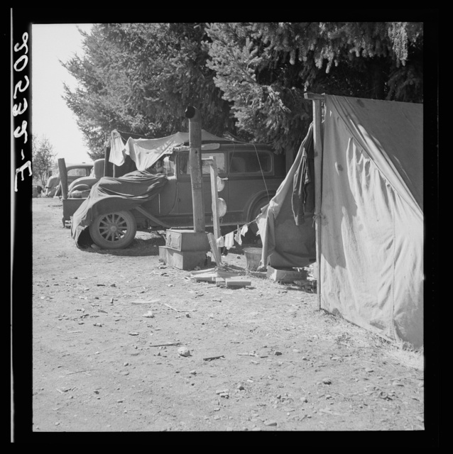 Oregon, Marion County, near West Stayton. Another migratory family camp during bean harvest. See general caption number 46