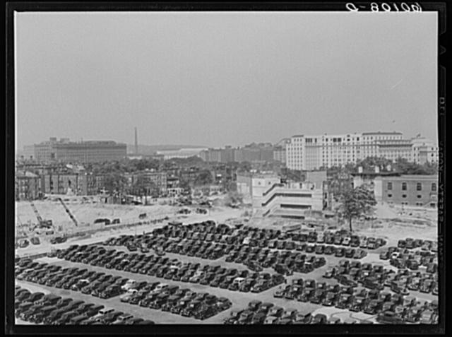 Parking lot. Washington, D.C.