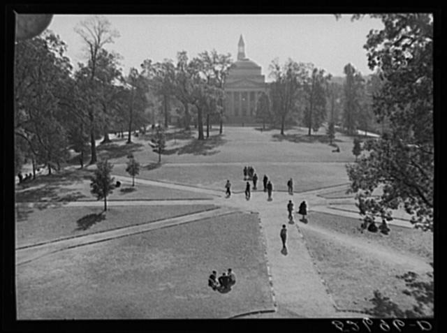 Part of the campus. University of North Carolina, Chapel Hill. Orange County, North Carolina