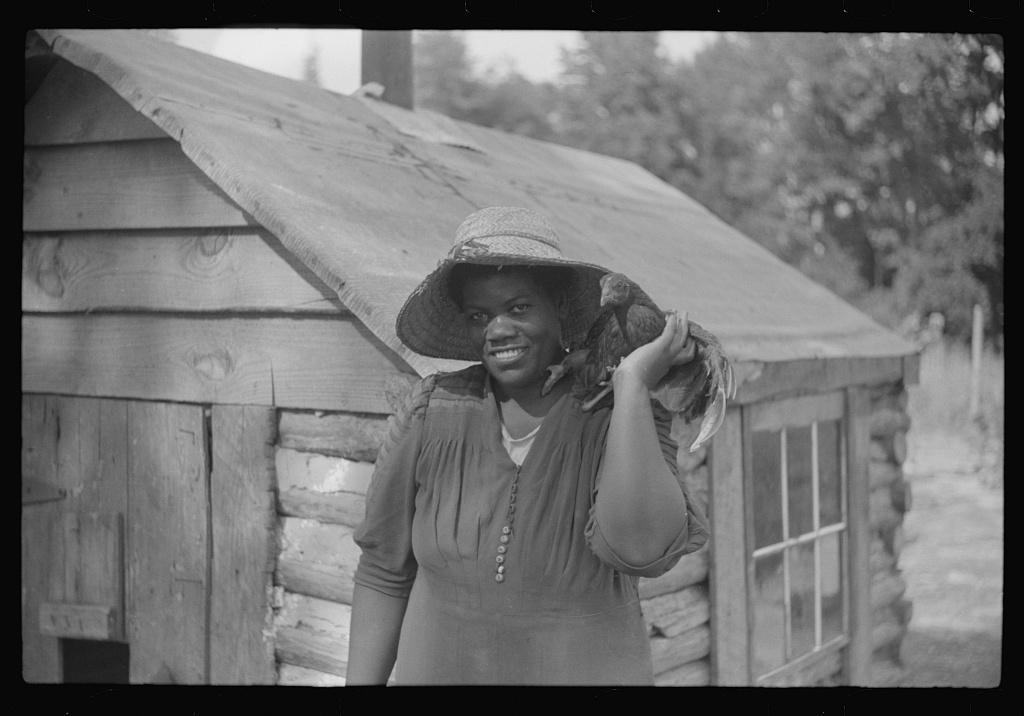 Pauline Clyburn, rehabilitation borrower, Manning, Clarendon County, South Carolina