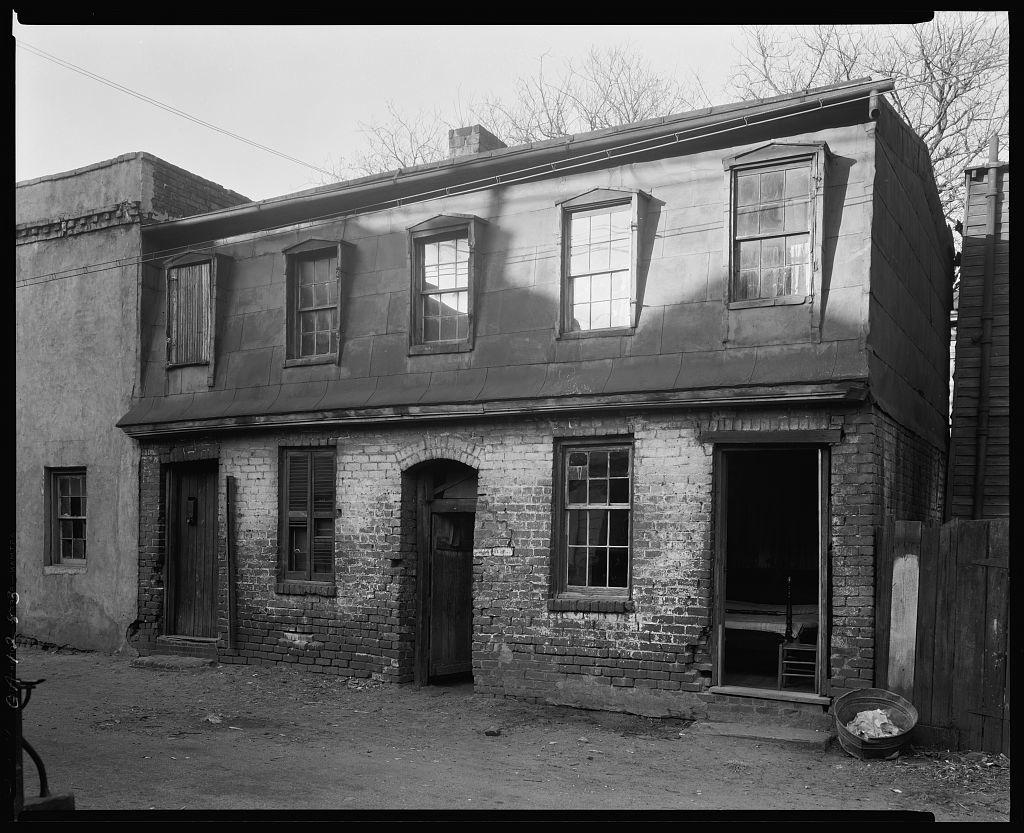 Perry Lane, West, near West Broad Street, Savannah, Chatham County, Georgia