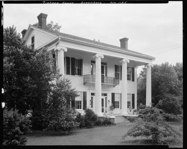 Pickens House, Greensboro, Hale County, Alabama