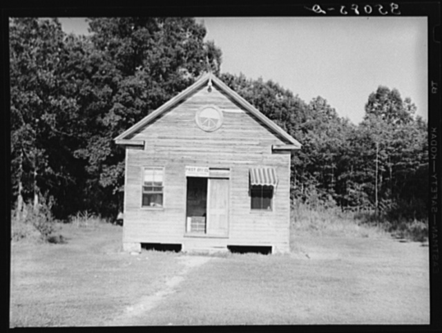 Post office. Tompkinsville, Maryland